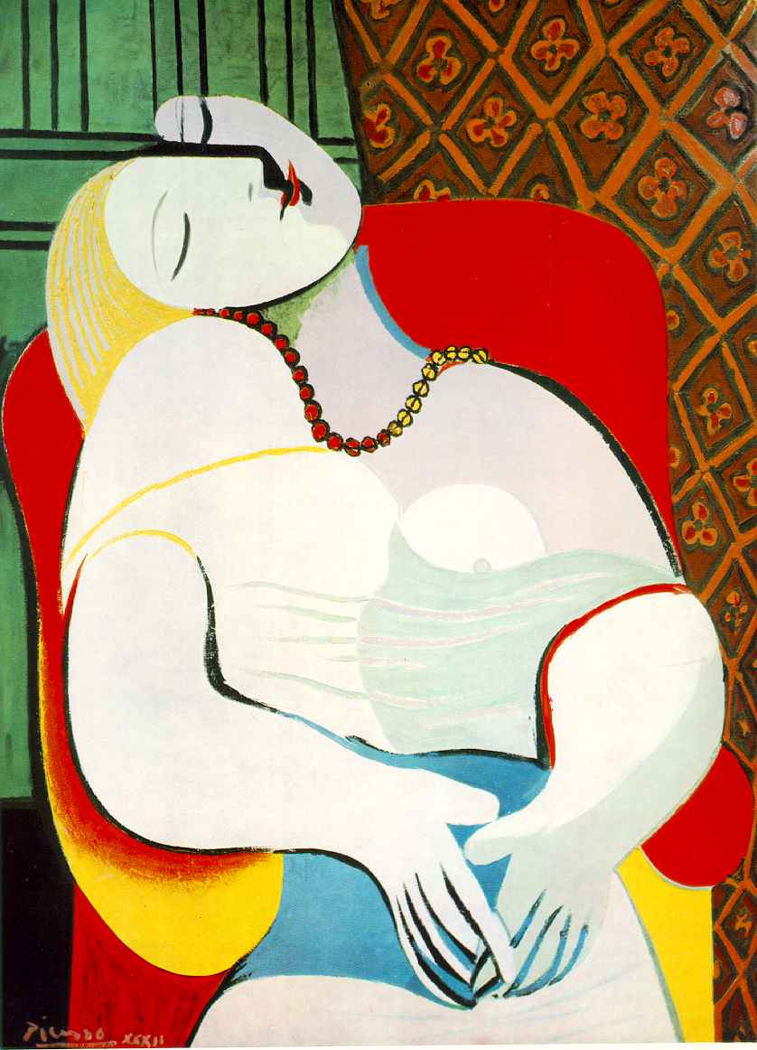 the five different nude women in the oil painting les demoiselles davignon by pablo picasso