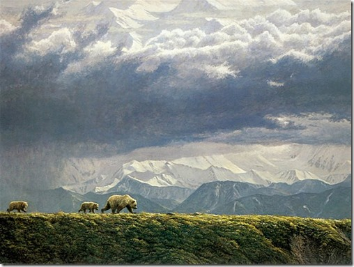 Along the Ridge – Grizzly Bears, 1984